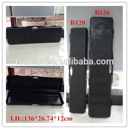 TSUNAMI B136!Engineering PP Double Shotgun Double Rifle Case Model B136 Tactical water taser gun case,leather gun case