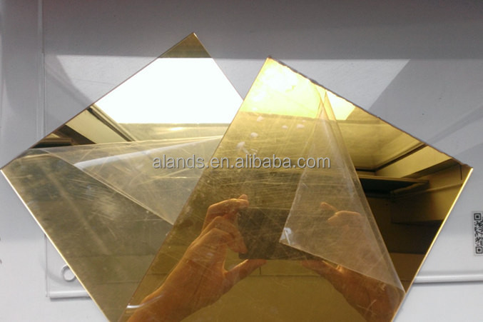 acrylic mirror sheet/PMMA mirror/plastic mirror sheet