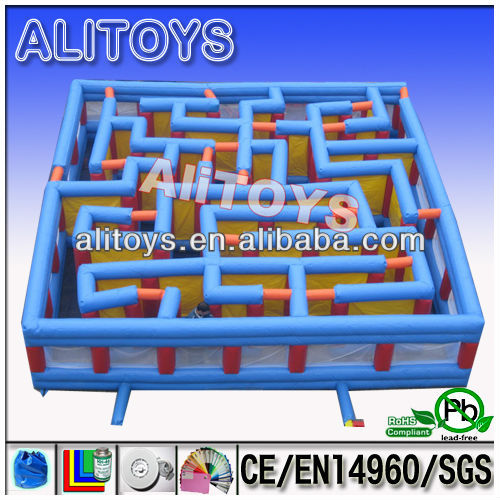 Laser tag inflatable maze /inflatable labyrinth maze game