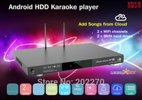 NEW Android HDD Karaoke product with Vietnamese Songs Cloud,Support Air KTV,Support over 3TB up to 16TB HDD.Build In AGC/AVC