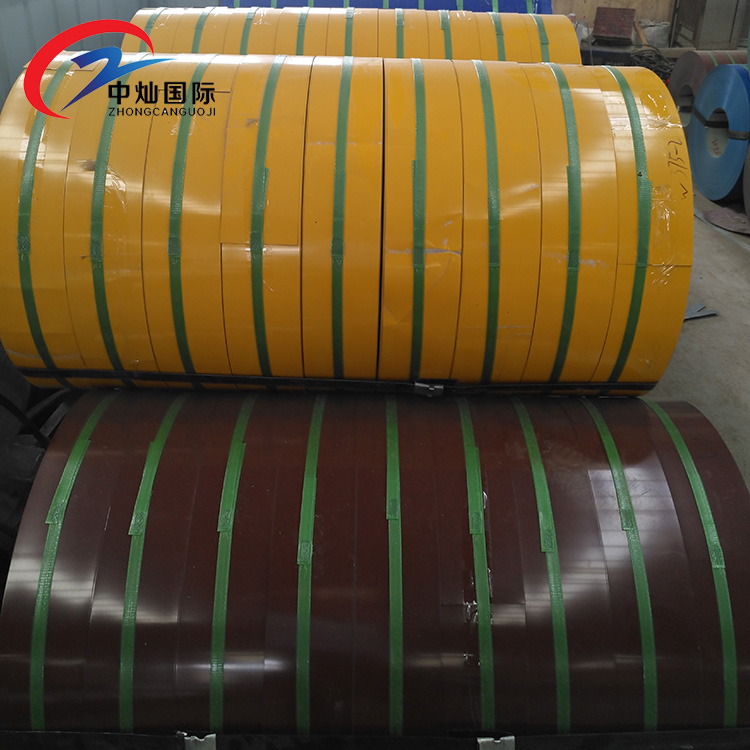 Prepainted Steel Strip 0.39mm Narrow PPGI Coil in China