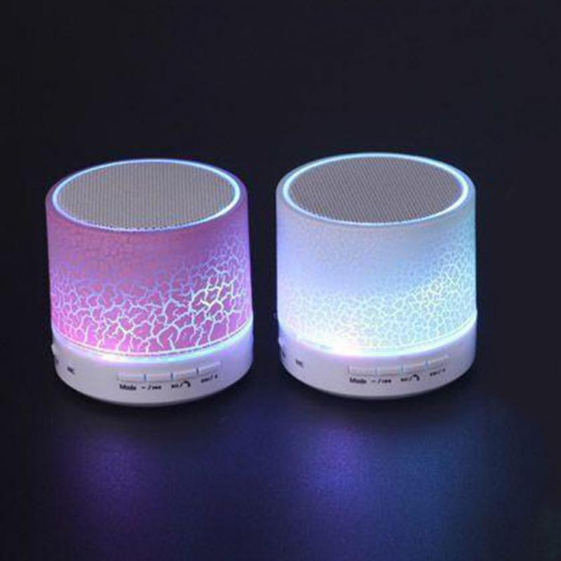Portable Mini A9 LED Night Light Wireless Bluetooth Speaker LED Support TF USB FM bluetooth led lamp speaker'
