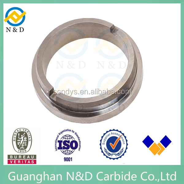 High precise machined tungsten carbide seal for valve seat ring of china origin