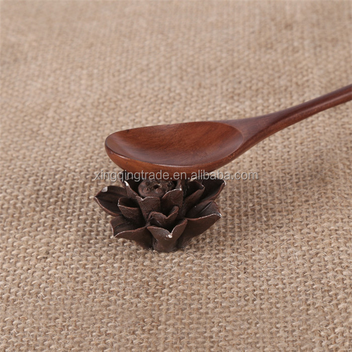 Wooden Soup Spoon Kitchen Accessory Handcraft Tableware Tools