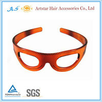 Funny sun glasses plastic hair bands