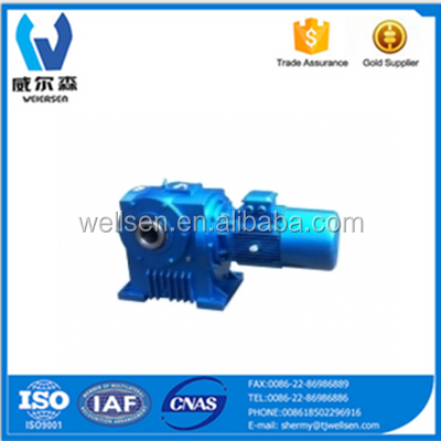 Special speed reducer for continuous casting machine