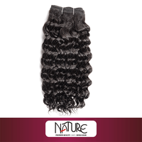 listed company rebecca brazilian human hair weave no tangle no shedding for fashionable black women