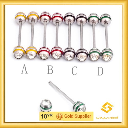 high quality nipple stretching jewelry piercing in low price