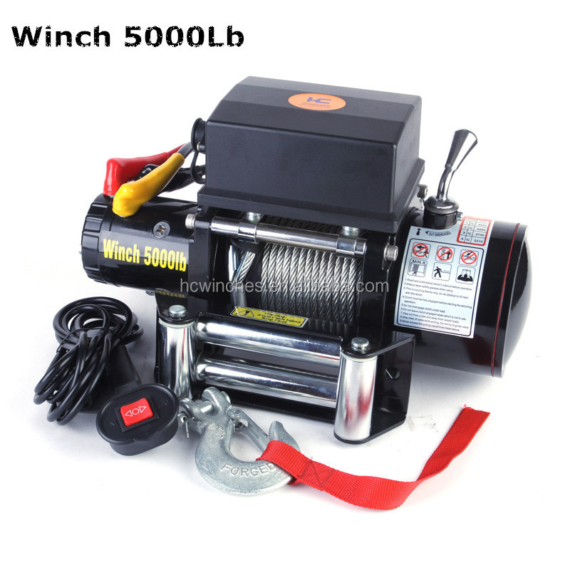 DC 12V /24V Electric Winch 5000lbs Mini winch for Jimney