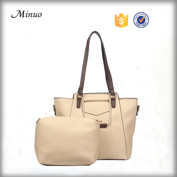 8645- Hot sale Classic style pu handbag women pu leather handbag bag lady tote handbag