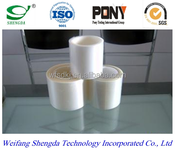 White ldpe adhesive protective film from China manufacture