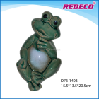 Ceramic garden frog ornament for sale