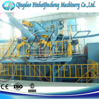 New Style steel plate paint blast cleaning equipment for steel plate,section steel,square steel and so on