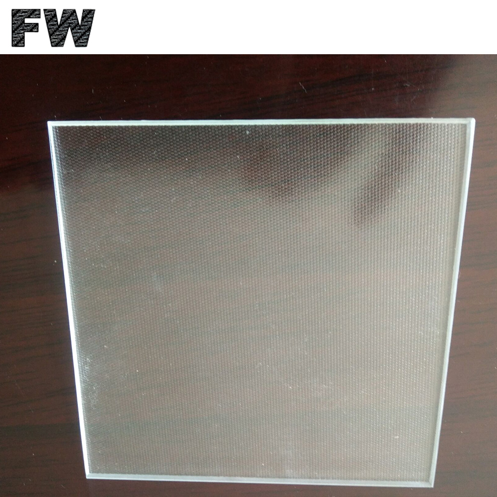 Low Iron Solar Tempered Patterned Glass 3.2mm Solar PV Tempered Cover Glass