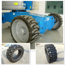 heavy duty machine parts wheel for containers Reach stacker tyres Mobile crane tyres 10*16.5 12*16.5