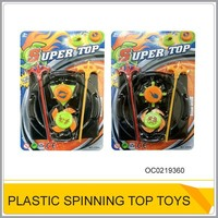 Promotional plastic spinning top toy for sale OC0219360