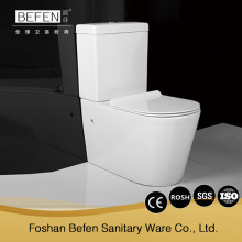 Hot selling sanitary ware bathroom two-piece toilet water closet
