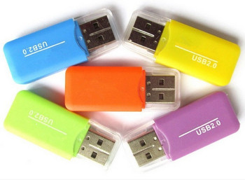 China factory supplier high speed USB 2.0 micro memory card reader