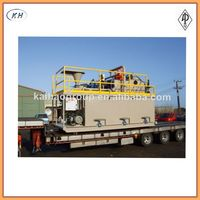 API oilfield mud tank for drilling rig