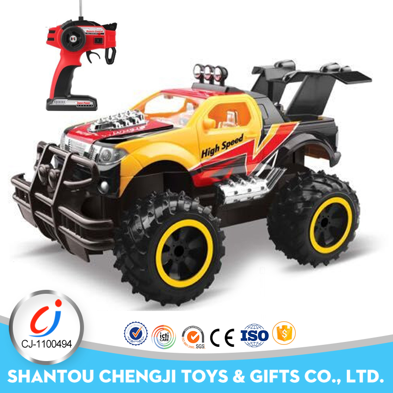 Chenghai 1:14 scale off road crawler rc nitro jeep with light