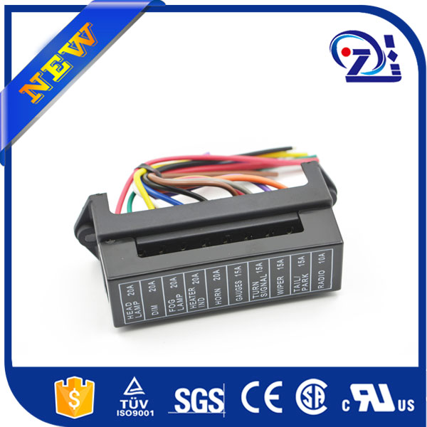 4 Way 12v Circuit Fuse Box/auto fuse holder/Car Fuse Holder