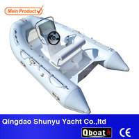 CE certificate12ft hypalon boat inflatable for sale