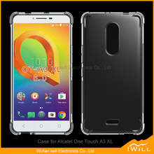 Alpha Shockproof tpu cover for Alcatel One Touch A3 XL crashproof case skin
