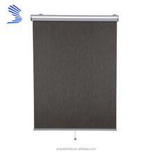 Formalized Ornamental Reinforced Japanese Window Blinds With Mounting Brackets