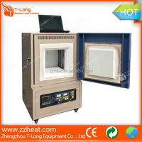 High-efficiency ceramic fibre lab electric heat oven with RS485 Serial interface