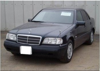 1995.Mercedes Benz C200-Japanese used cars