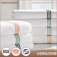 China Supply Wholesale Price Customize 100 % Cotton Microfiber Fabric Elastic Hotel Microfibe Bath Towel