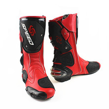 Motorcycle racing accessory winter motocross waterproof boots