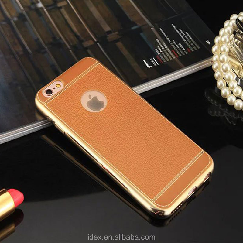 phone case leather brown cover for iphone 7