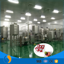 Alibaba industrial food grade tomato paste production equipment