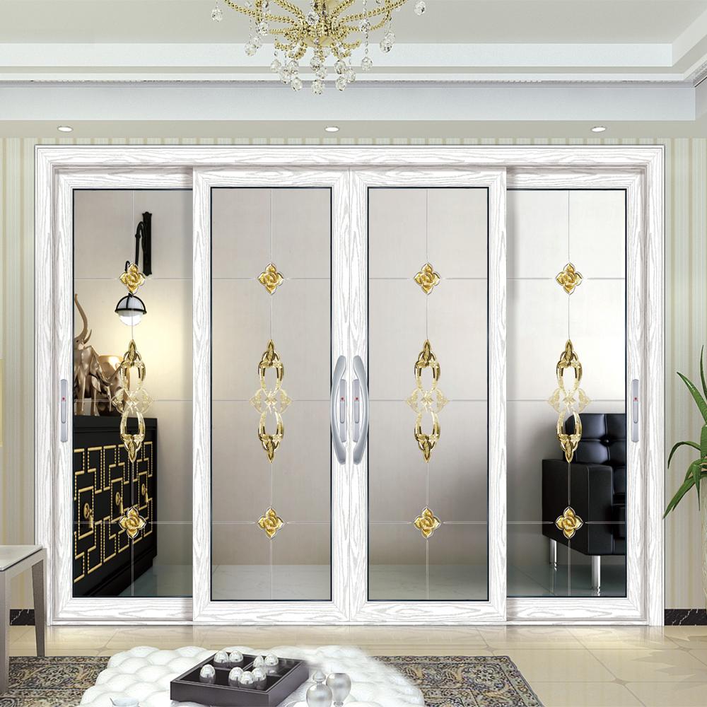 Bankettsaal Wohnzimmer Trennwand Design Weiß Aluminium Glas Schiebetür In  Dubai - Buy Schiebetür,Glasschiebetür,Glas Schiebetür Product on Alibaba.com
