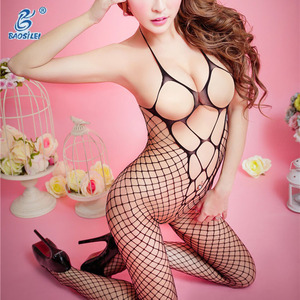 Hot transparent mature sexy lingerie women bodystocking