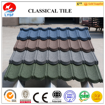 Classical Tile - Stone Coated Steel Roofing Tile