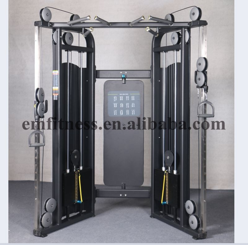 pulley weight machine exercises