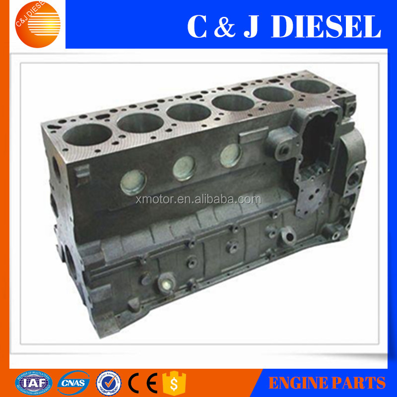 6CT Aluminum Engine Cylinder Block For PC360-7 Diesel Engine Cylinder Block 3939313