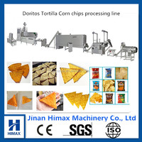New Fried Doritos Tortilla Corn Chips making machine
