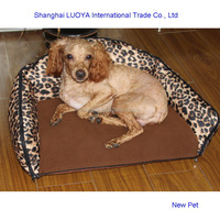 Custom made hot sale two use pet dog sofa dog kennel house cage