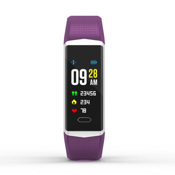 GPS sports band with nRF52832  dynamic heart rate monitor blood pressure and sedentary reminder