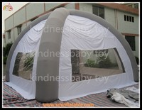 Hot sale pvc inflatable event tent car garage tent inflatable trade show tent