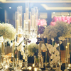 tall wedding 5 arm fancy crystal candelabra for wedding event party decorative