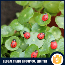 462704 Gifts & Crafts Red Lady Bug Moss micro landscape resin Of Lady Bug Decorations For Bonsai Plants