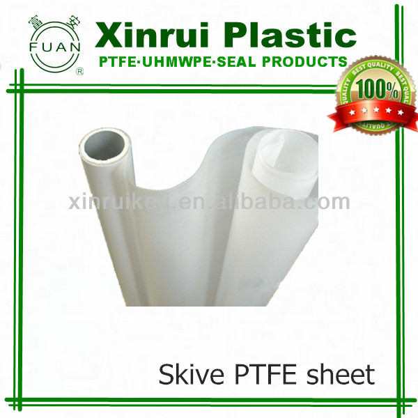 High dielectric properties skived teflon ptfe sheet