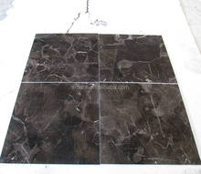 Competitive price 1.8 cm Chinese emperador dark marble slab