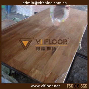New arrivel solid wood worktop with finger jointed