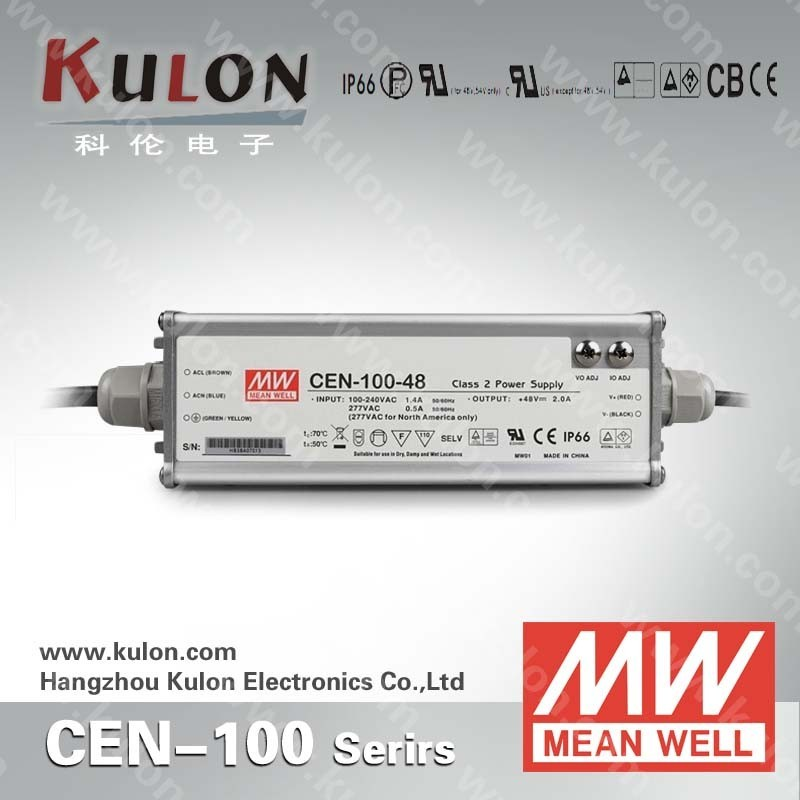100w 36v MeanWell CEN series Ul listed ip66 design led power supply