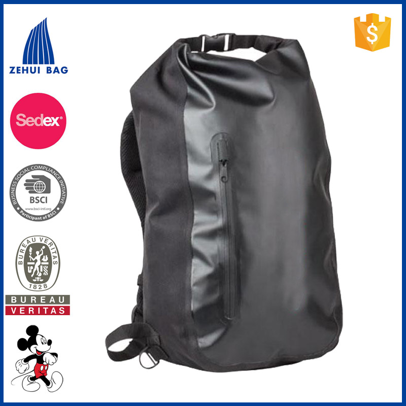 PVC Tarpaulin backpack dry